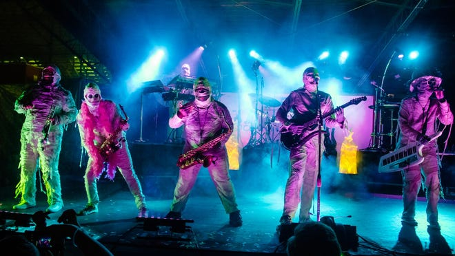 """Here Come The Mummies are set to """"Rock the Light"""" on Friday night in Port Clinton."""