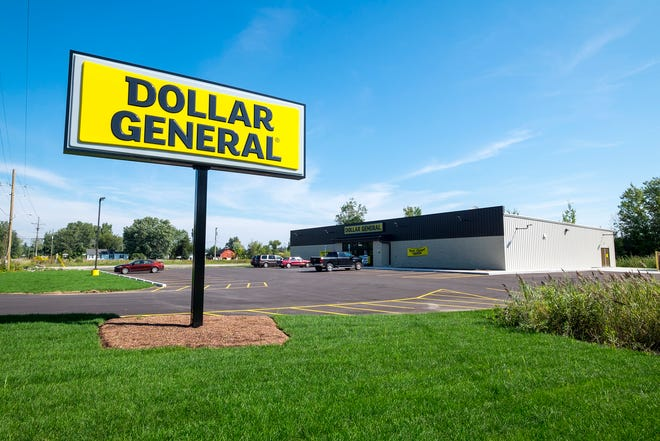 The Dollar General at 2358 Wadhams Road in Kimball Township has opened.