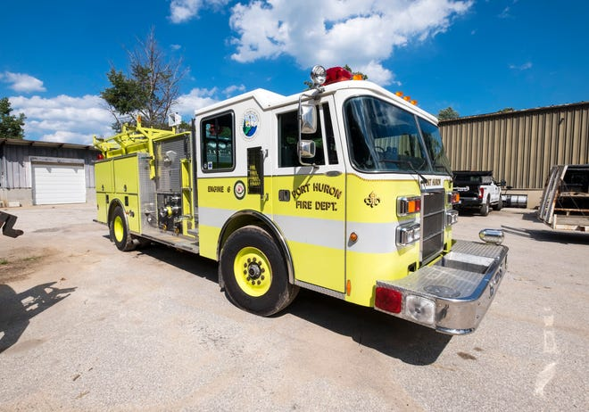 "Instead of selling a retired 1992 Port Huron Fire pump  truck, the city is repurposing it to be used to wash goose poop off of parks, marinas and boat launches. The truck has been dubbed the ""Goose Poop Patrol."""