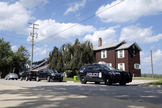 Port Huron police are investigating a stabbing on Michigan Street near Rawlins Street Wednesday afternoon.