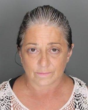 Kathleen V. Slusz was arrested Tuesday.