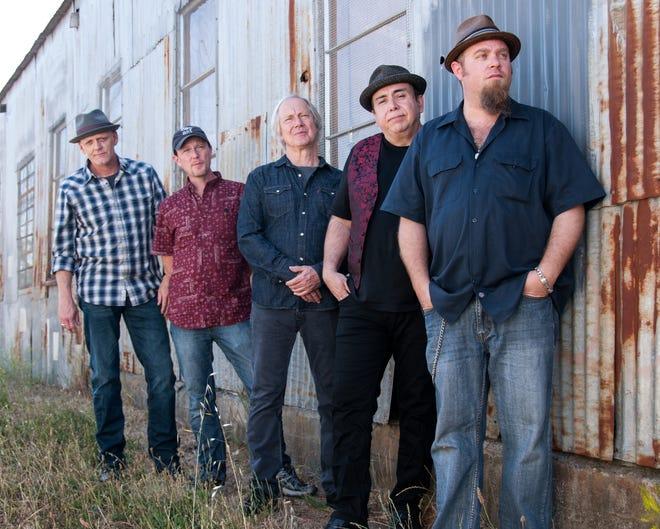 The Weight Band, from left, Albert Rogers, Matt Zeiner, Jim Weider, Brian Mitchell and Michael Bram.