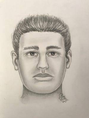 A sketch of the man in a Wappinger robbery from late August.
