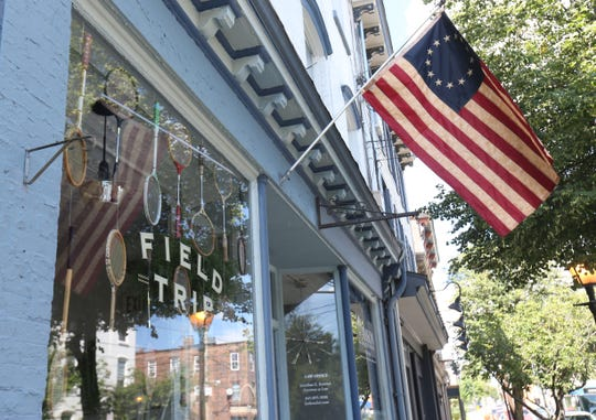Field Trip on Liberty Street in Newburgh on August 30, 2018. Field Trip sells local hand made items with their own line of hygiene products.