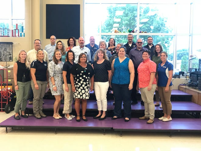 More than 20 educators (pictured above) in the Chambersburg Area School District will participate in the Educator in the Workplace program. They will get real-world experience with local employers, which they will then use to enhance their curriculum.