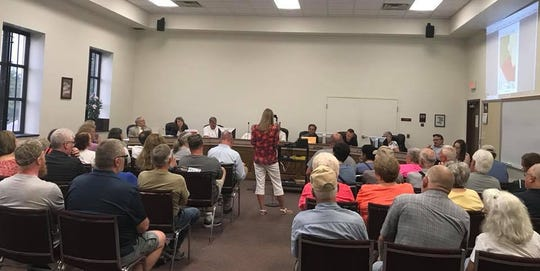 Dover residents, who live on or near Blackberry Road, opposed a rezoning request and won.