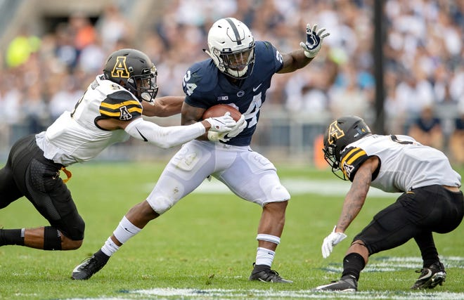Former Penn State running back Miles Sanders has seen his NFL draft stock rise recently.