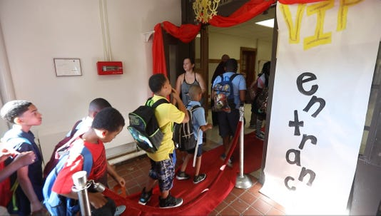 Red Carpet first day of school