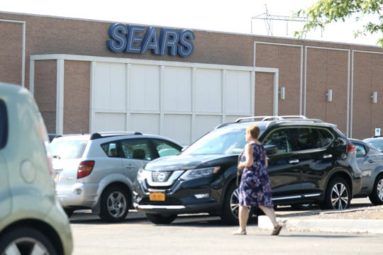 Sears store closing at Eastview Mall.