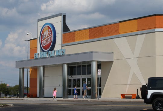 Dave & Busters at Marketplace Mall in Henrietta Wednesday. Reinventing the mall through new experiences will be key to their survival, analysts say.