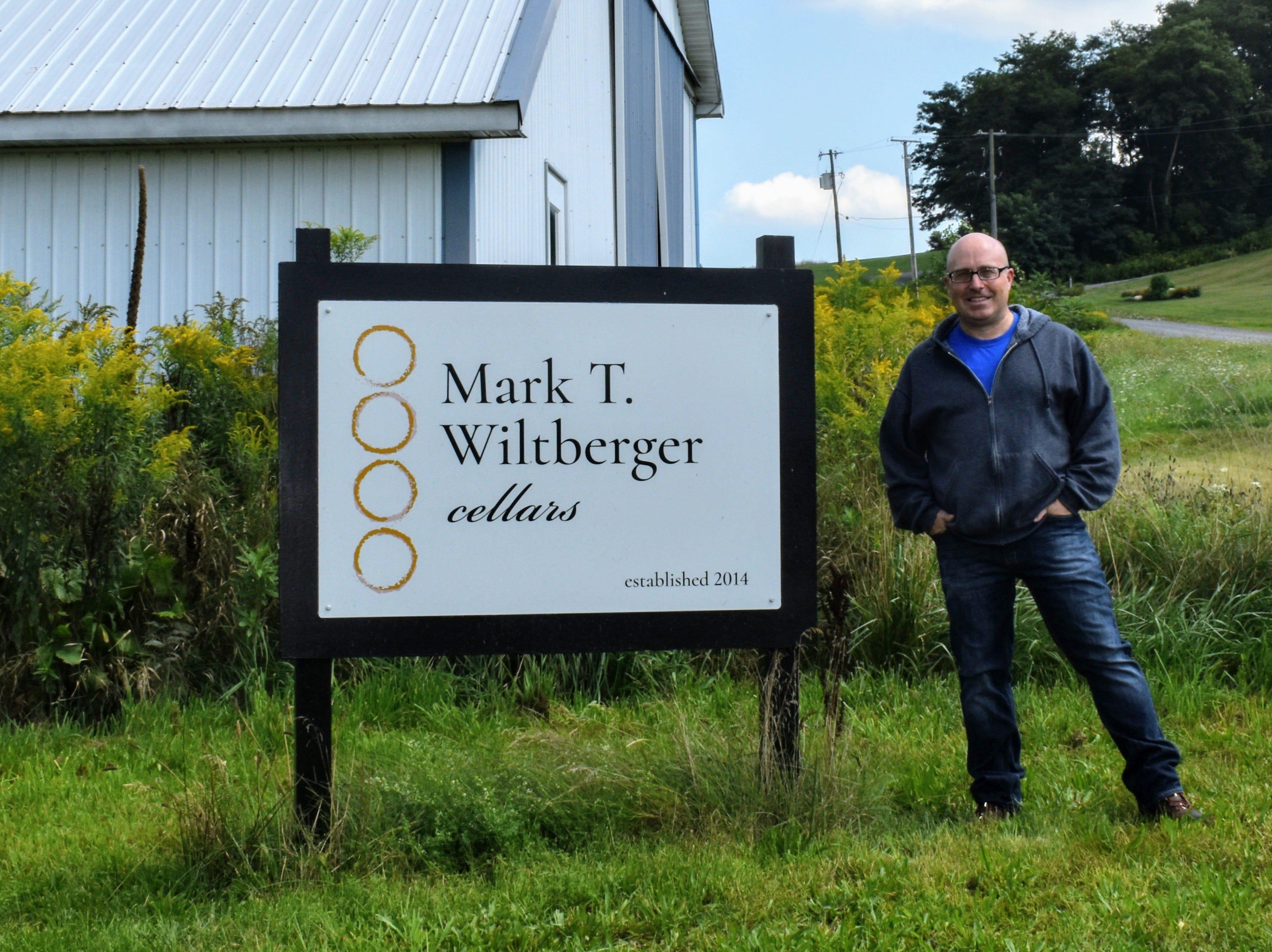 Mark T. Wiltberger Cellars is near Keuka Lake.