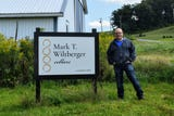 Mark Wiltberger is a one-man operation at Mark T. Wiltberger Cellars.