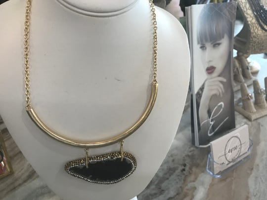 This statement necklace is $36 at Evie