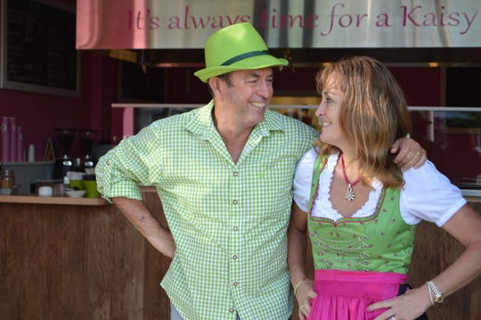 Thierry and Nathalie Langer are the owners of Kaisy's Delights in Rehoboth Beach and Lewes.