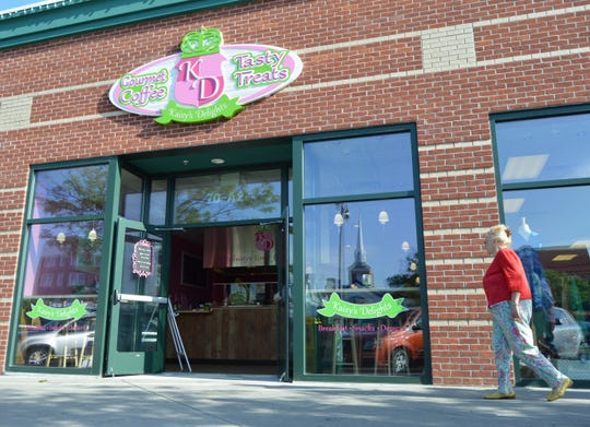 Kaisy's Delights is located on Rehoboth Avenue at First Street Station.