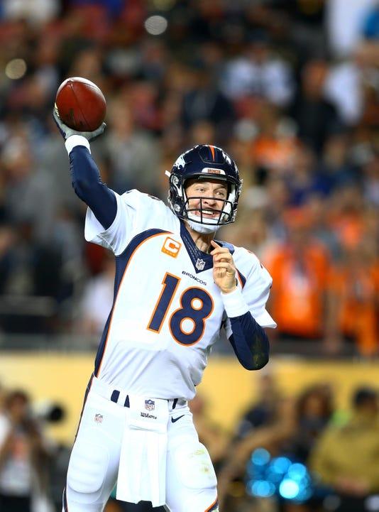 Nfl Super Bowl 50 Carolina Panthers Vs Denver Broncos