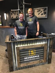 Severance Brewing Co. co-founders Scott Heckel and Mark Stavenger