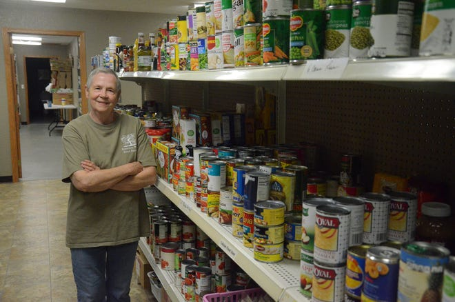Linda Weber started the Food Pantry in Brandon 10 years ago. The pantry is open from 4 to 6 p.m. every Tuesday and Thursday in downtown Brandon.