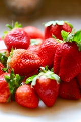 Juicy strawberries are not only hydrating, but an excellent source of vitamin C.