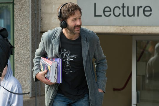 "Chris O'Dowd plays an obsessed academic in the comedy ""Juliet, Naked,"" opening Friday."
