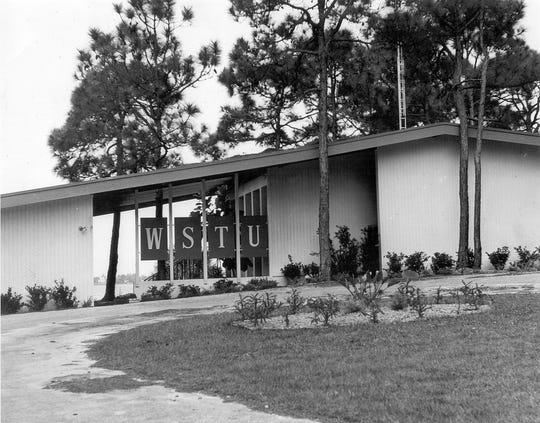 WSTU radio station in 1950s.