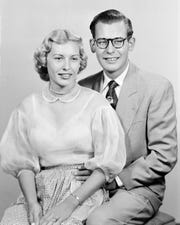 Roger Dancz and his wife, Phyllis.