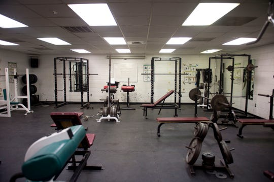 The usable space of the South Fork High School weight room is 30x25 feet and is full of old equipment, leaving an inadequate space for the 20 athletic teams and classes that use the area, according to student athletes and their parents.