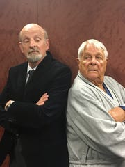 "H. G. Brown and Don Matlin star in A.C.T. Studio Theatre's  ""The Sunshine Boys."""