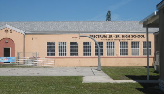 Former Stuart Training School (now named Spectrum School) in East Stuart in 2014.