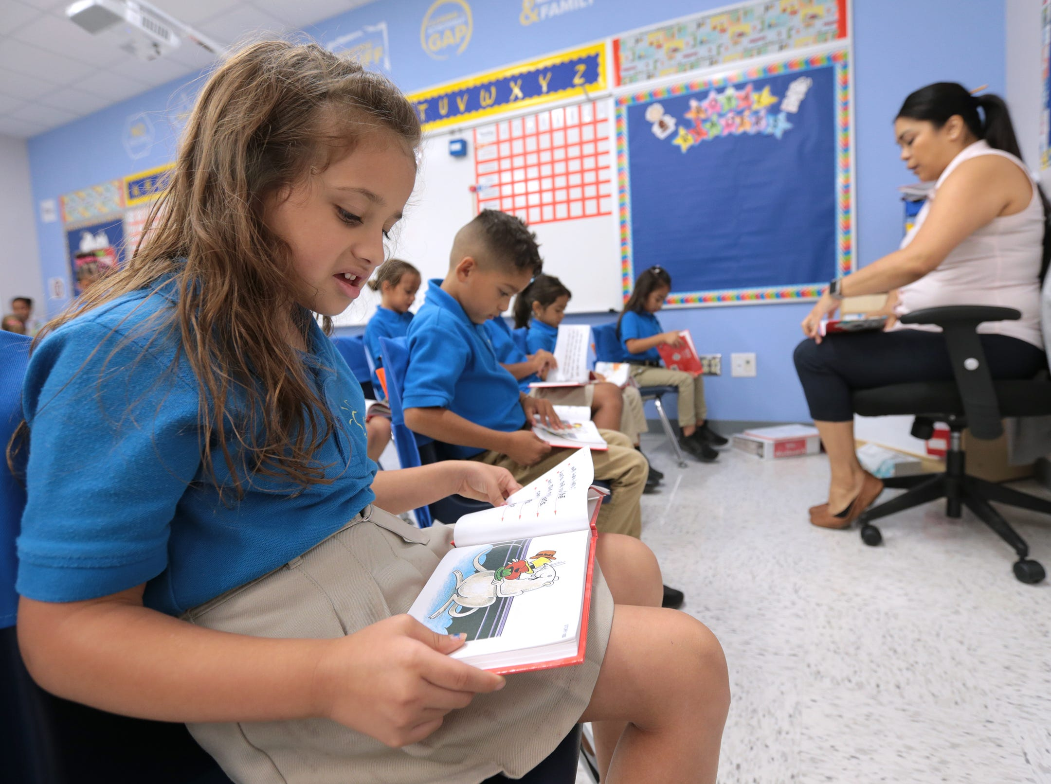 IDEA Edgemere opened this school year in far east El Paso.