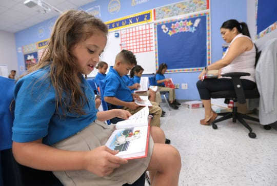A teacher leads a class at the IDEA Edgemere charter school in El Paso in 2018. IDEA Public Schools, Texas' largest charter school network, will open four schools in Corpus Christi in 2022.