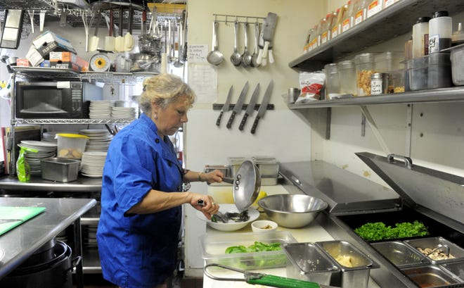 La Dolce Vita's Michelle Kenney will probably serve lemon pistachio pasta at this year's Ventura County Star Wine & Food Experience.
