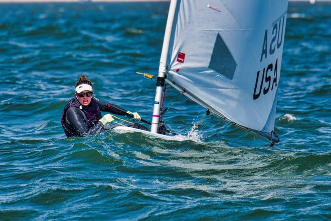 Foothill Tech's Annika Fedde placed 20th overall in the Laser Radial Youth World Championships in Germany.