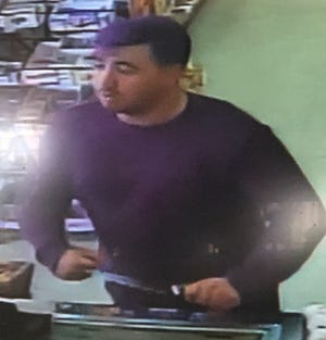 Have you seen this man? Porterville police are searching for the man in connection with a liquor store robbery.