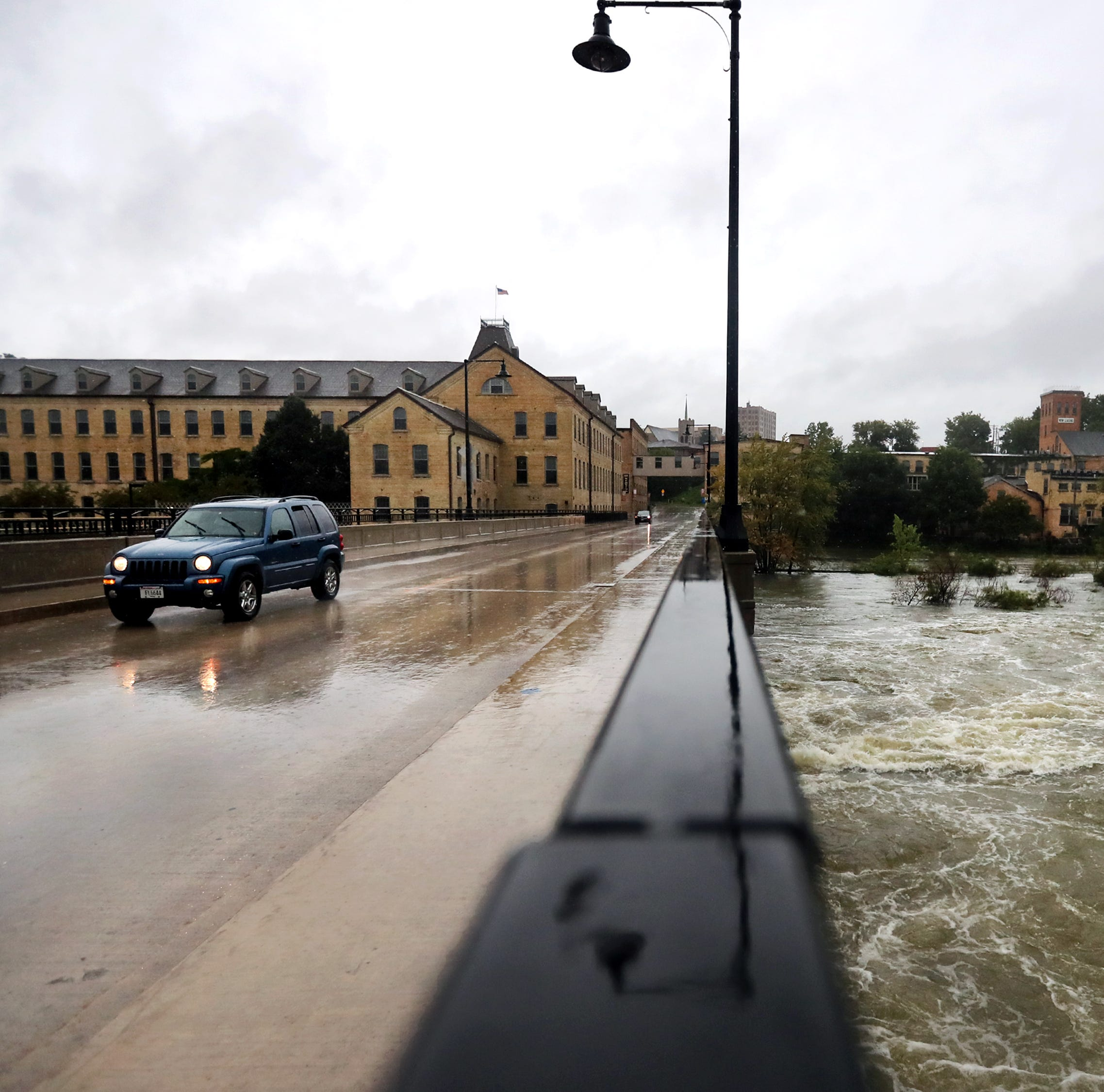 Heavy rains lead to high water, flooded basements across much of Wisconsin
