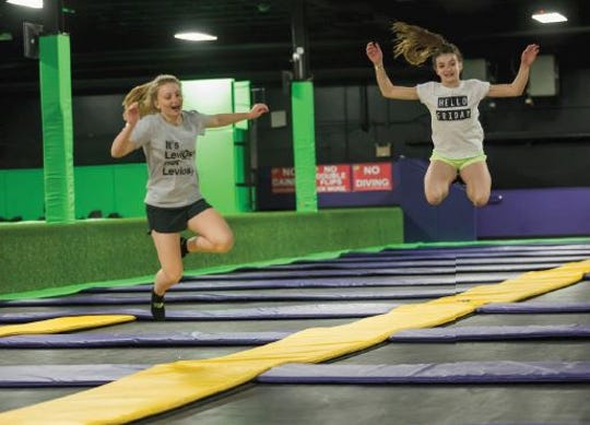 Get Air Trampoline Park is coming to the Palisades Center