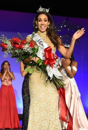 Joanna Wicks represented Delaware Miss America pageant on Sunday night.