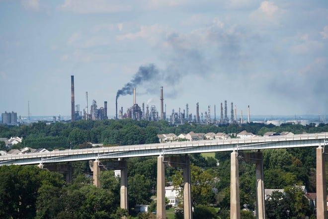 The Delaware City Refinery.