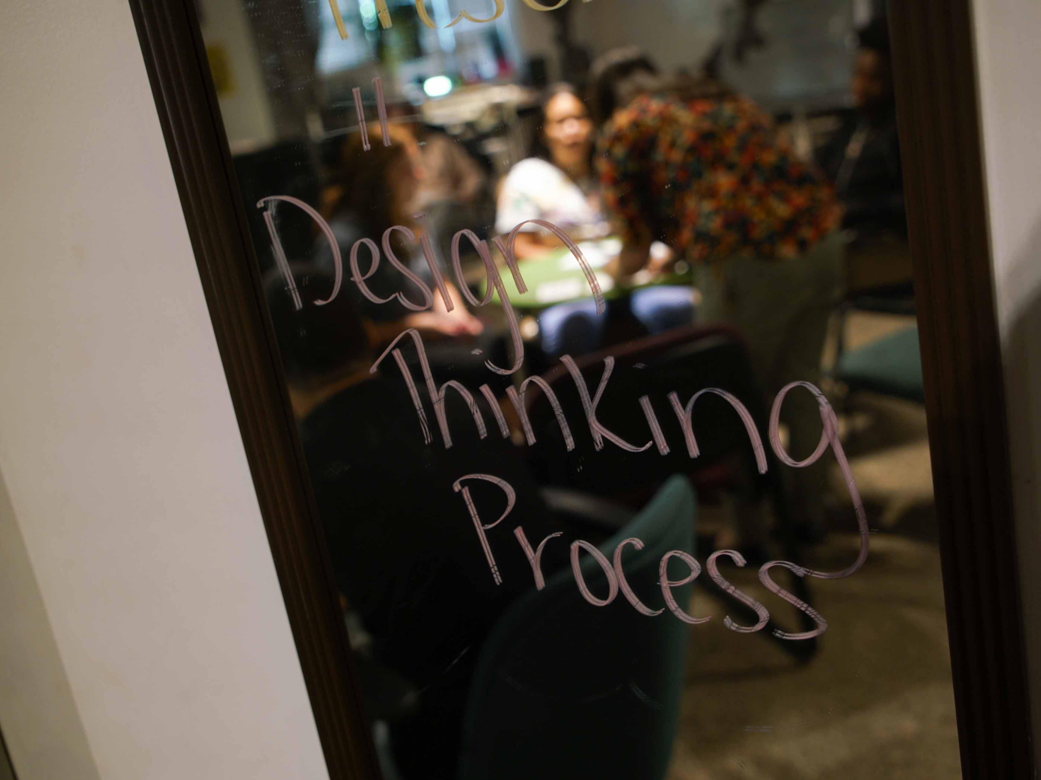 "Delaware Design Lab High School is rebranding as ""Design Thinking Academy""."