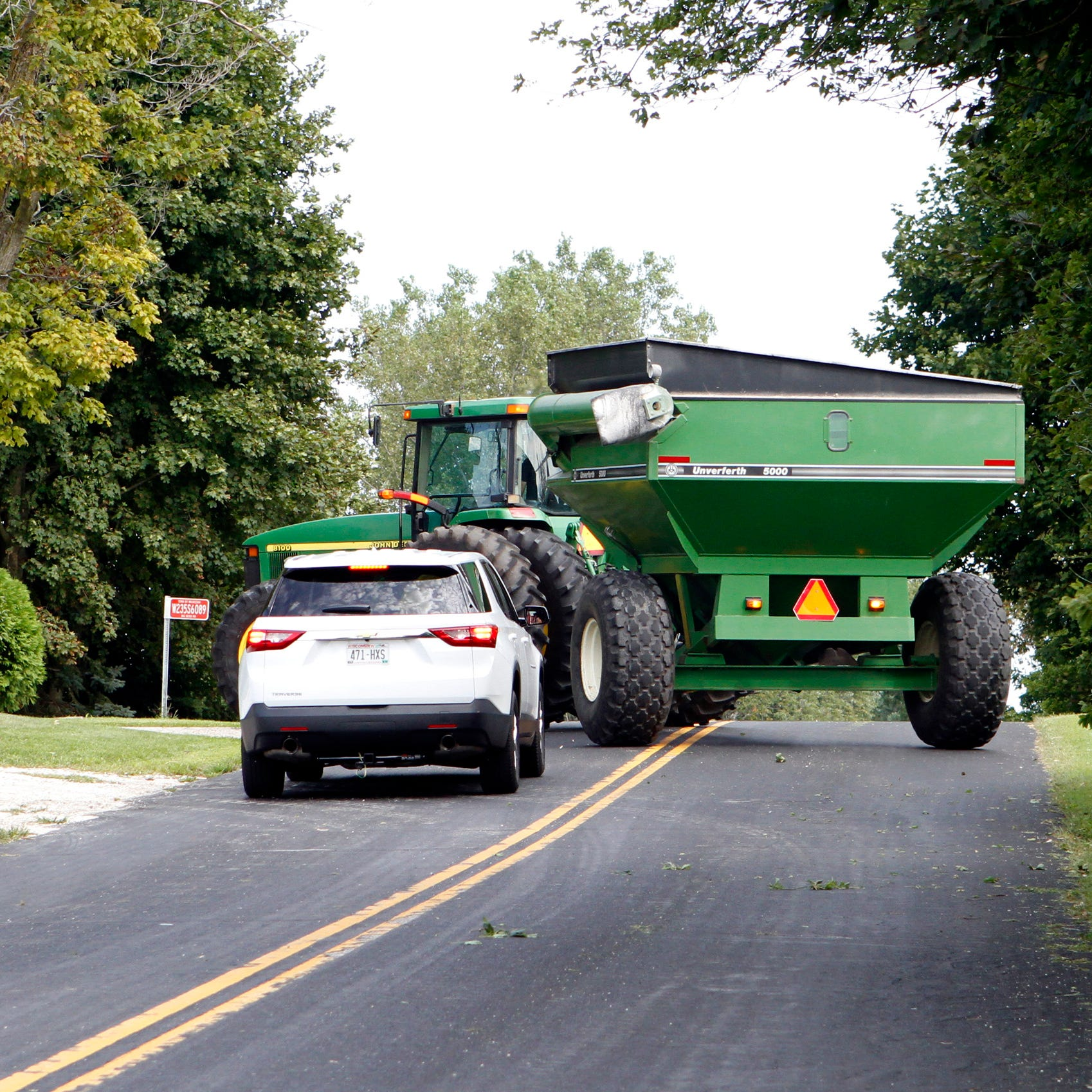 Harvest time: Time for farmers, motorists to work together and keep roads safe