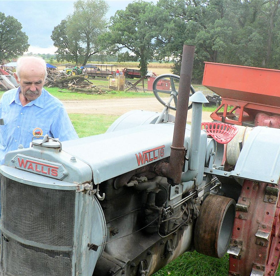 100 year old tractors tell the story of innovation and invention