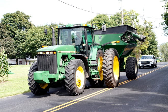 Harvest is a high-risk time for crashes on public roads.