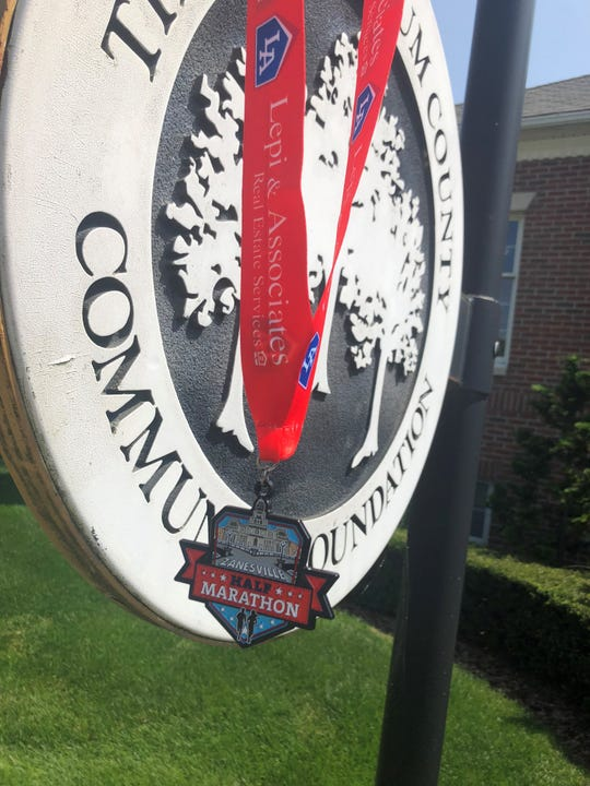The first Zanesville City Half Marathon is being used as a fundraiser to improve quality of life through the Muskingum County Community Foundation's Wellness and Recreation Committee.