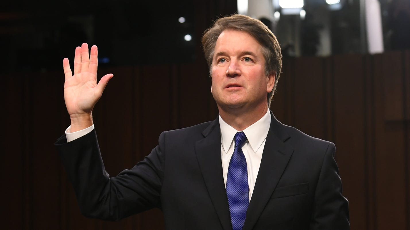 Supreme Court nominee is sworn in Tuesday before the Senate Judiciary Committee.
