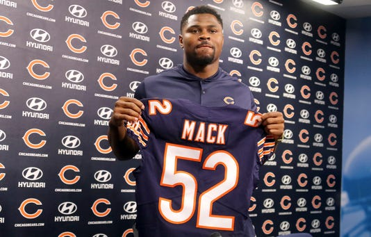 Ap Bears Mack Football S Fbn Usa Il