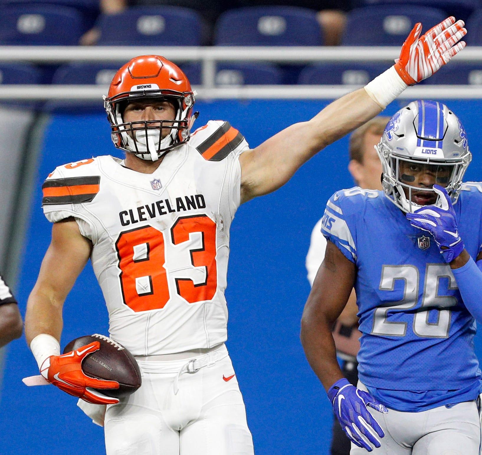 Usp Nfl Cleveland Browns At Detroit Lions S Fbn Det Cle Usa Mi