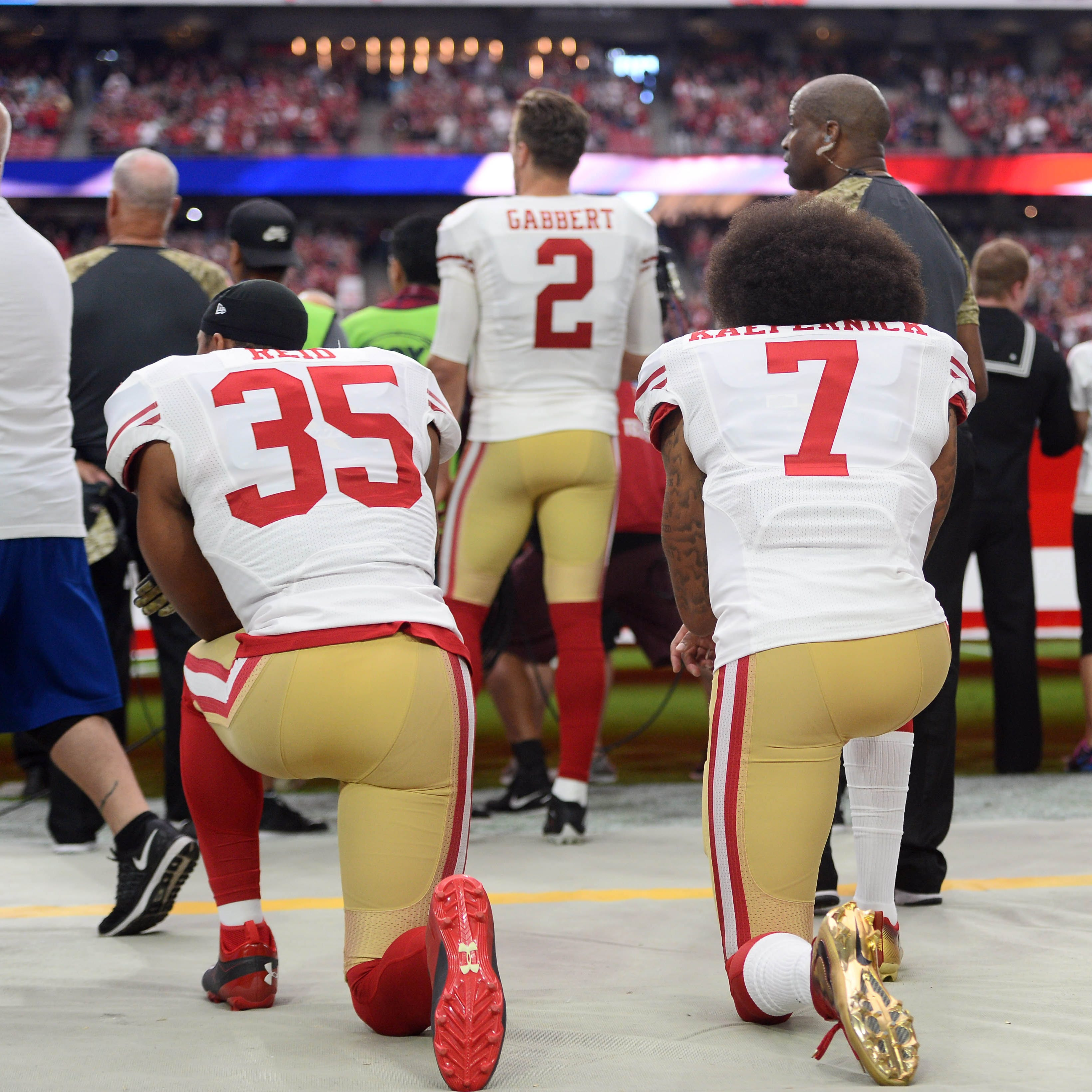 Horn column: NFL players want to enact social change while Trump wants to play games