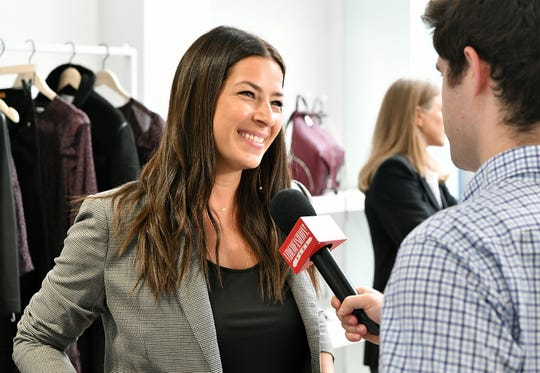 NEW YORK, NY - SEPTEMBER 05:  Designer Rebecca Minkoff attends Rebecca Minkoff Presentation, a part of September 2018  New York Fashion Week on September 5, 2018 in New York City.  (Photo by Slaven Vlasic/Getty Images) ORG XMIT: 775216220 ORIG FILE ID: 1027344018