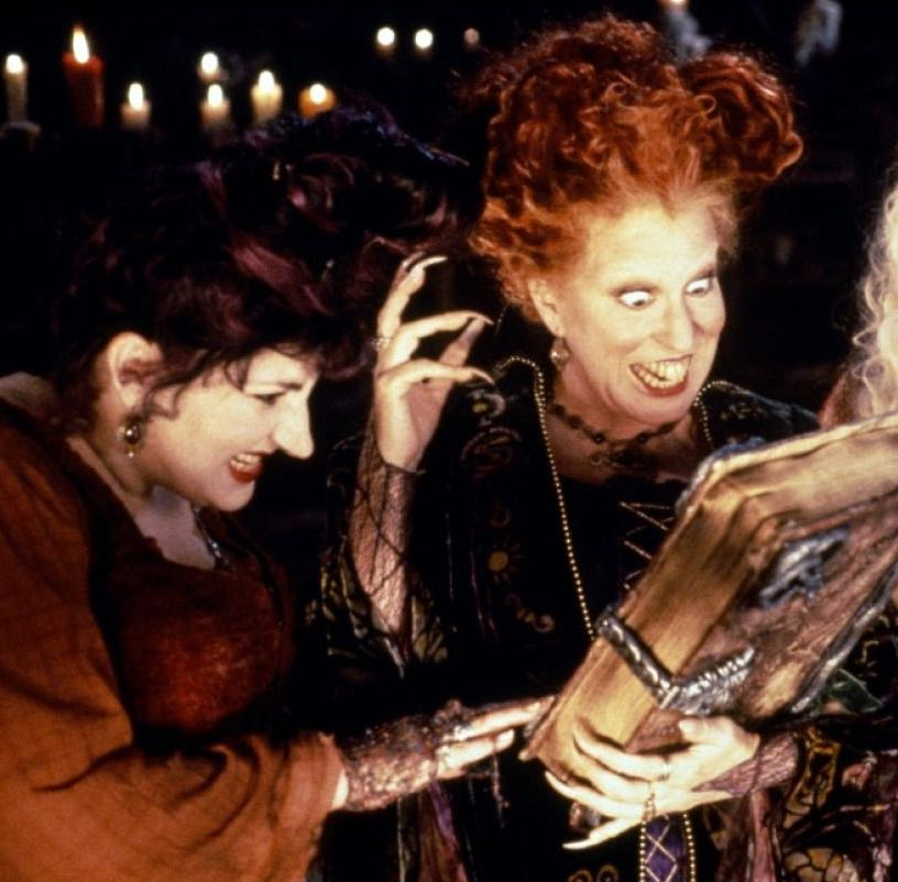 "Freeform's 31 Nights of Halloween 2018 lineup includes a ""Hocus Pocus"" marathon."