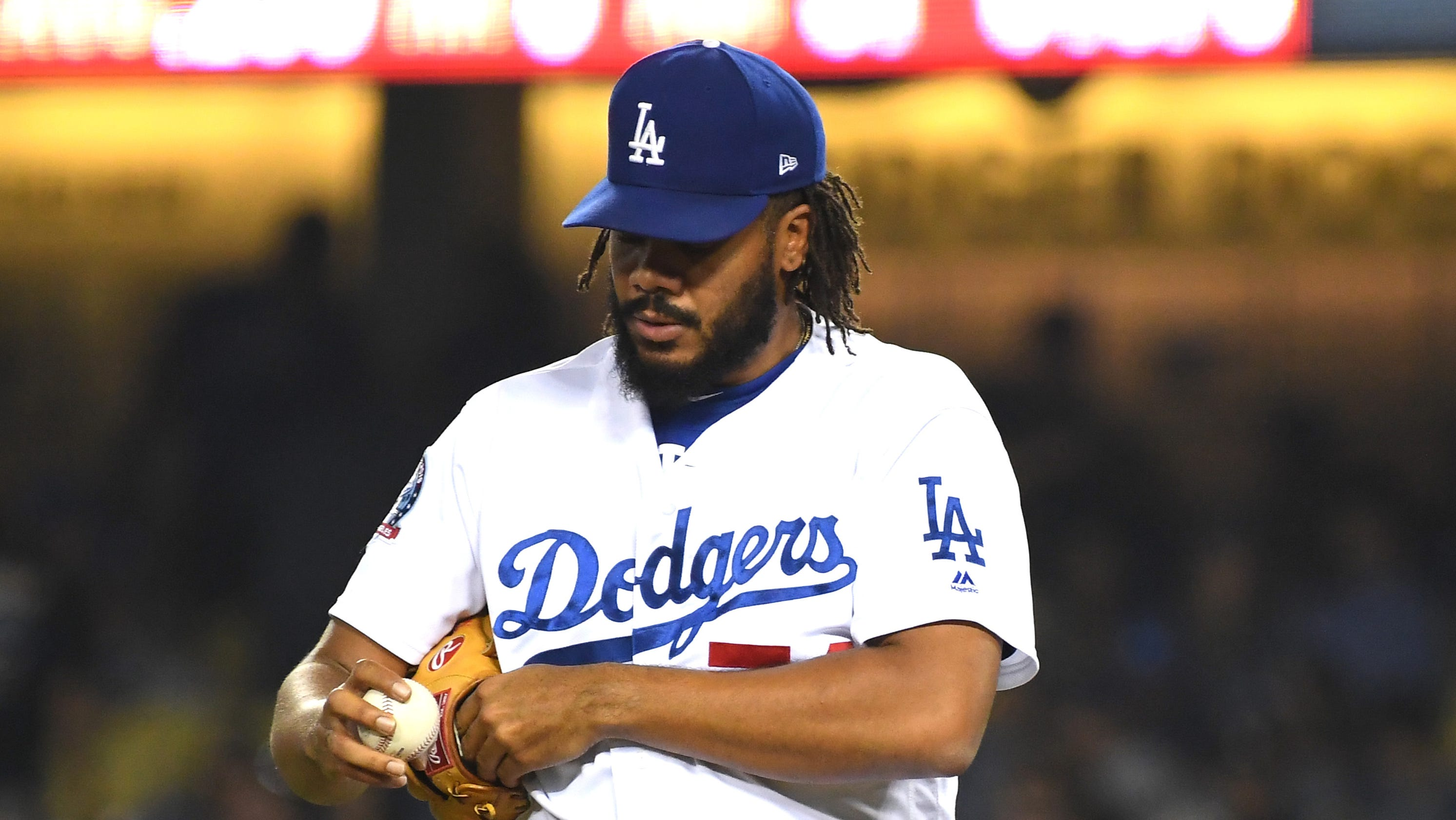 dab0bc4f6 Dodgers  Kenley Jansen to miss Rockies series for precautionary reasons